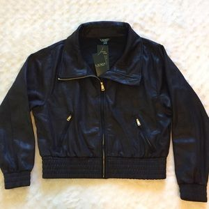 Ralph Lauren Black Jacket NWT Medium